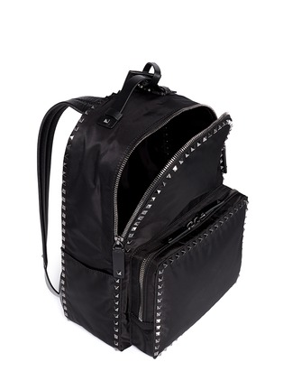 细节 - 点击放大 - VALENTINO - 'Rockstud' nylon backpack