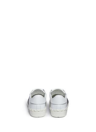 背面 - 点击放大 - VALENTINO - 铆钉拼色真皮球鞋