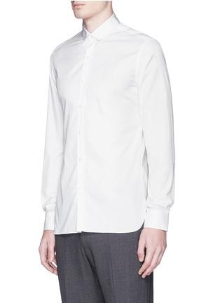 正面 - 点击放大 - LANVIN - 罗缎衣领纯棉衬衫