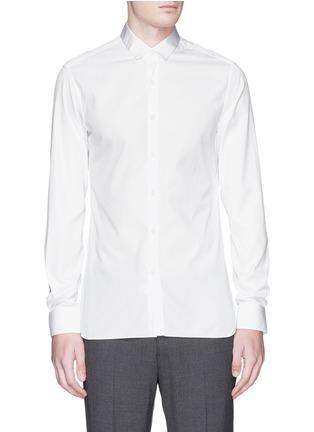 首图 - 点击放大 - LANVIN - 罗缎衣领纯棉衬衫