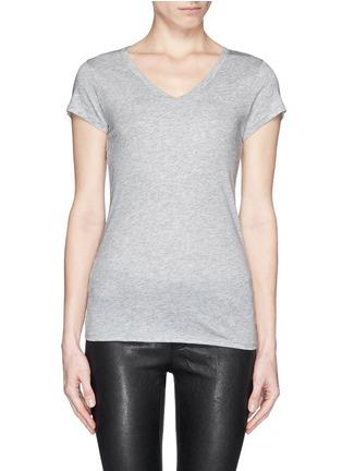 首图 - 点击放大 - VINCE - 'Little Boy' Pima cotton-modal T-shirt