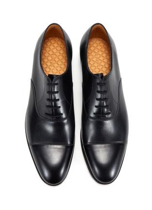 模特儿示范图 - 点击放大 - JOHN LOBB - CITY II TENSILE真皮牛津鞋
