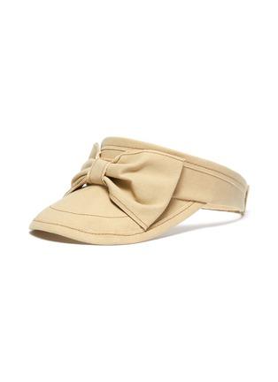 首图 - 点击放大 - BERNSTOCK SPEIRS - 车缝线蝴蝶结纯棉遮阳帽