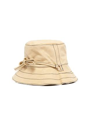 首图 - 点击放大 - BERNSTOCK SPEIRS - 系带车缝线纯棉渔夫帽