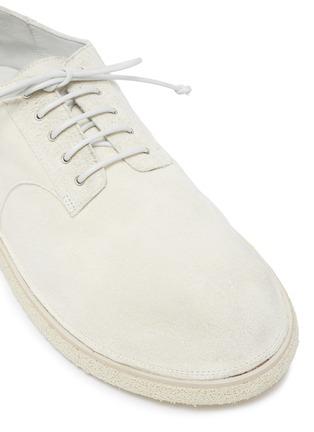 细节 - 点击放大 - MARSÈLL - 系带真皮德比鞋