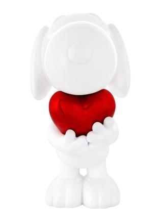 首图 –点击放大 - LEBLON-DELIENNE - SNOOPY镀铬爱心史努比造型雕塑-红色