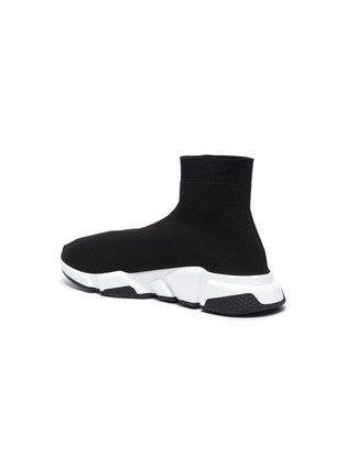 - BALENCIAGA - SPEED品牌名称拼色鞋底袜靴式针织运动鞋
