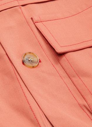 - PRONOUNCE - 翻盖口袋羊毛夹克