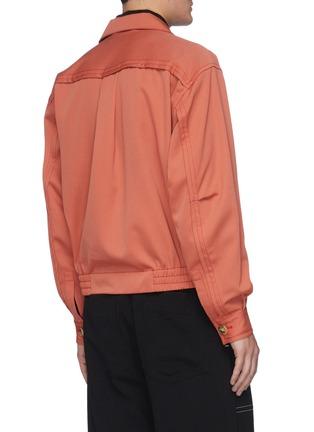 背面 - 点击放大 - PRONOUNCE - 翻盖口袋羊毛夹克