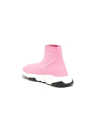 - BALENCIAGA - SPEED儿童款LOGO袜靴式针织运动鞋