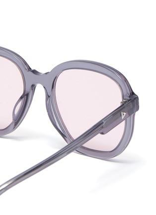 细节 - 点击放大 - STEPHANE + CHRISTIAN - D形镜框板材太阳眼镜