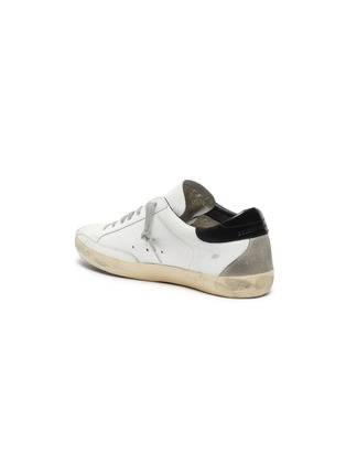 - GOLDEN GOOSE - SUPERSTAR拼接设计五角星做旧感真皮运动鞋