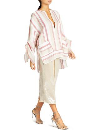 模特儿示范图 - 点击放大 - ROLAND MOURET - NOBEL开衩高腰亮片半裙