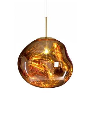 首图 –点击放大 - TOM DIXON - MELT融化造型半透明吊灯-金色