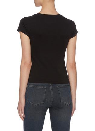 背面 - 点击放大 - FRAME DENIM - LE SCOOP圆领皮马棉T恤