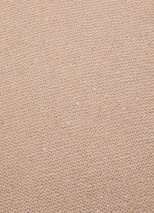 - SWAYING - 亮片金属丝线微透视效果针织衫