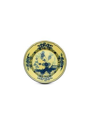 首图 –点击放大 - RICHARD GINORI - Oriente Italiano Citrino水墨图案陶瓷面包盘-蓝色及黄色(17cm)