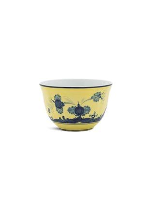 首图 –点击放大 - GINORI 1735 - ORIENTE ITALINO CITRINO水墨图案陶瓷碗-蓝色及黄色(10.5cm)