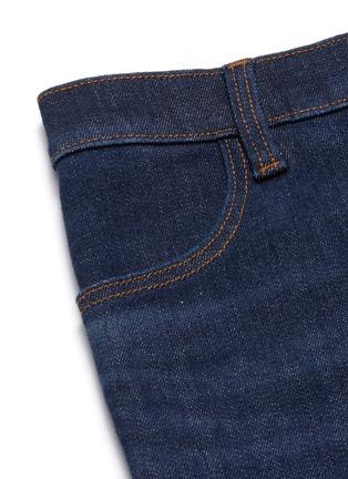 - J BRAND - MARIA高腰水洗修身棉质牛仔裤