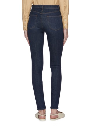 背面 - 点击放大 - J BRAND - MARIA高腰水洗修身棉质牛仔裤