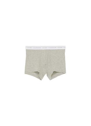 首图 - 点击放大 - CALVIN KLEIN UNDERWEAR - CK ONE系列及品牌名称混棉平脚内裤