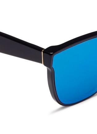 细节 - 点击放大 - SUPER - Classic中性款镜面镜片太阳眼镜