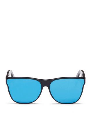 首图 - 点击放大 - SUPER - Classic中性款镜面镜片太阳眼镜