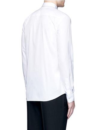 背面 - 点击放大 - GIVENCHY - 链条装饰纯棉府绸衬衫