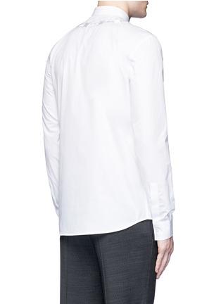 背面 - 点击放大 - GIVENCHY - 荆棘刺绣纯棉府绸衬衫