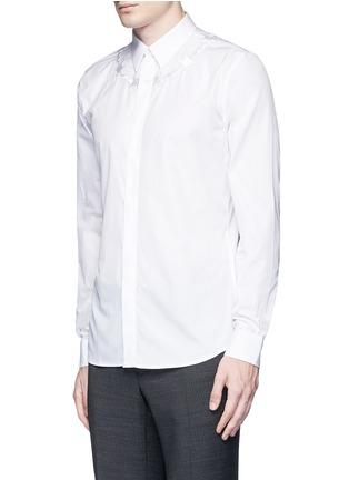 正面 -点击放大 - GIVENCHY - 荆棘刺绣纯棉府绸衬衫