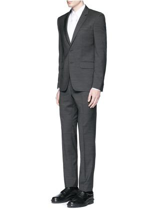 模特儿示范图 - 点击放大 - GIVENCHY - 荆棘刺绣纯棉府绸衬衫