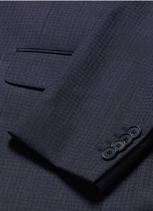 - GIVENCHY - 格纹羊毛西服套装