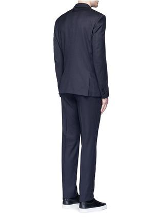 背面 - 点击放大 - GIVENCHY - 格纹羊毛西服套装