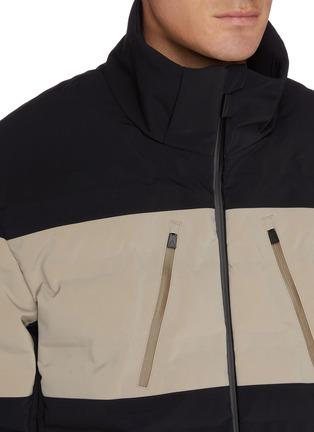 细节 - 点击放大 - AZTECH MOUNTAIN - Nuke Suit 4.0拼色羽绒功能连帽夹克