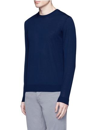 正面 -点击放大 - ALTEA - 纯色初剪羊毛针织衫