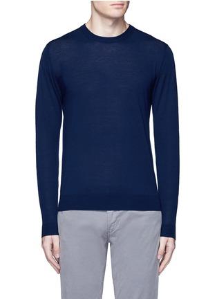 首图 - 点击放大 - ALTEA - 纯色初剪羊毛针织衫