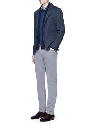 模特儿示范图 - 点击放大 - ALTEA - 纯色初剪羊毛针织衫