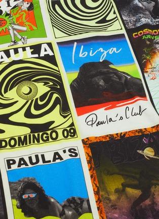 - LOEWE - PAULA'S IBIZA拼色趣味图案OVERSIZE纯棉T恤