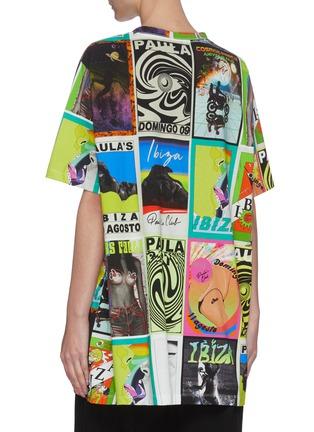 背面 - 点击放大 - LOEWE - PAULA'S IBIZA拼色趣味图案OVERSIZE纯棉T恤