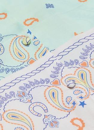 - MIRA MIKATI - 拼色趣味图案衬衫