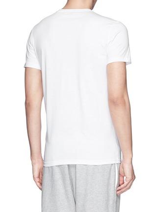 背面 - 点击放大 - MONCLER - 条纹波点纯棉T恤