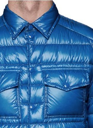 细节 - 点击放大 - Moncler - GREGOIRE翻领羽绒夹克