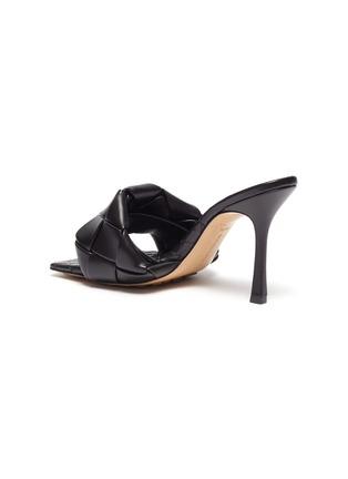 细节 - 点击放大 - BOTTEGA VENETA - LIDO交叠编织真皮高跟穆勒鞋