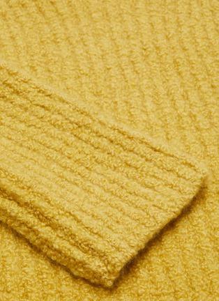 - PETAR PETROV - 小高领羊绒混丝针织衫