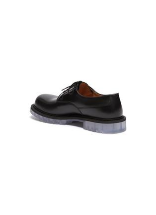 - BOTTEGA VENETA - 透明鞋底小牛皮德比鞋