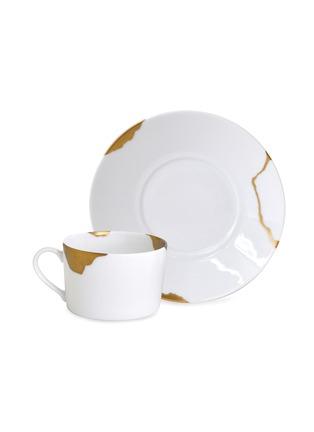 首图 –点击放大 - BERNARDAUD - KINTSUGI  SARKIS24k金点缀陶瓷杯及杯碟套装