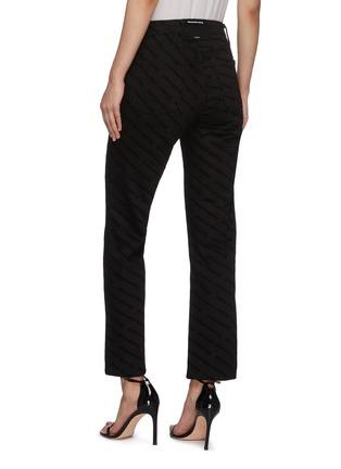 背面 - 点击放大 - ALEXANDER WANG - logo修身纯棉牛仔裤