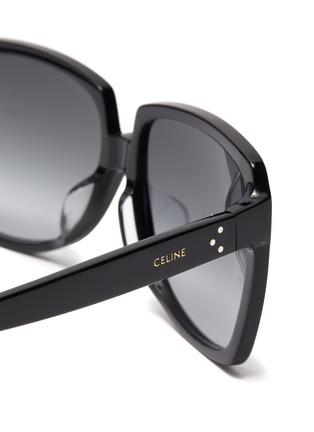 细节 - 点击放大 - CELINE - oversize D形镜框板材太阳眼镜