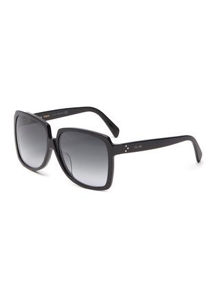首图 - 点击放大 - CELINE - oversize D形镜框板材太阳眼镜
