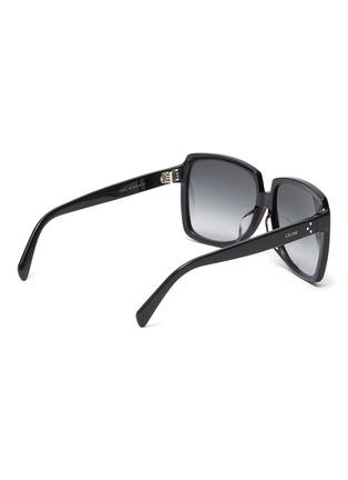 模特儿示范图 - 点击放大 - CELINE - oversize D形镜框板材太阳眼镜